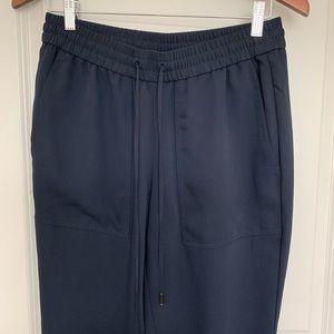 LOFT Navy Trousers